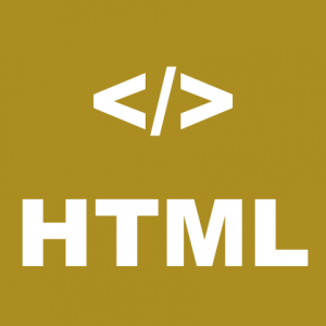 HTML logo for articles