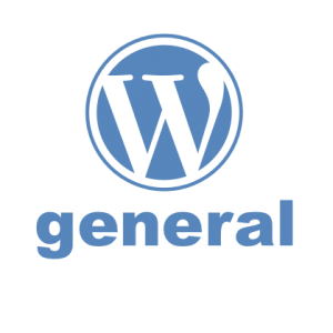 WordPress logo for general WordPress tutorials