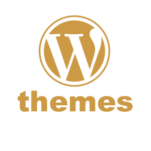 WordPress logo for WordPress themes tutorials